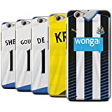 Offiziell Newcastle United FC Hülle / Case für HTC One A9s / Pack 29pcs Muster / NUFC Trikot Home 15/16 Kollektion
