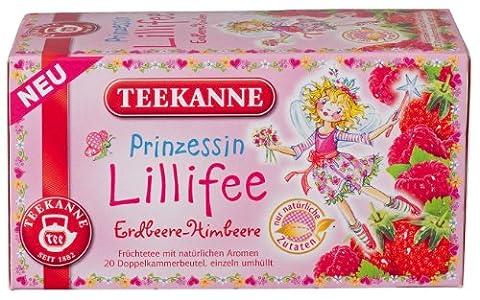Teekanne - Prinzessin Lillifee Erdbeer-Himbeer-Tee - 20 Teebeutel