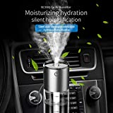 Best Mount-it! Aromatherapy Diffusers - periwinkLuQ Car Air Humidifier Freshener 2USB Charger Purifier Review