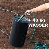 Walze Rasenwalze Handwalze Gartenwalze aus Metall, befüllbar – POW 63890 - 4
