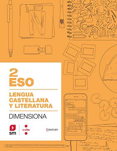 Cuaderno Lengua castellana y literatura 2 ESO Dimensiona Construïm