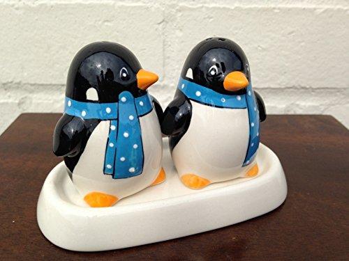Pinguino set sale e pepe-Sciarpa blu Spotty