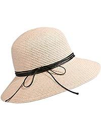 RONGLINGXING Cappelli per Donne Cappello di Paglia Primavera-Estate Donna  Cappello da Viaggio Grande Protezione e25b2eb0d19a