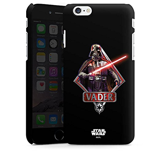 Apple iPhone SE Hülle Case Handyhülle Star Wars Merchandise Fanartikel Darth Vader Lichtschwert Premium Case matt
