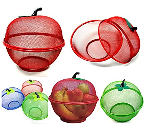 SMARTSTORE Apple Shape Mesh FRESH FRUITS Basket -Keep Flies &
