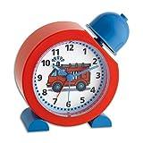 TFA Dostmann 60.1011.05 Analoger Kinderwecker TatüTata, Feuerwehr Uhr, für Kinder geeignet, einfache Bedienung, 5,2 x 13 x 13,3 cm