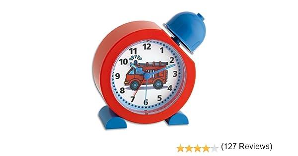 TFA Dostmann Tat/ü-Tata 60.1011.05 R/éveil pour enfant avec sir/ène de pompier 130 x 52 x 133 mm