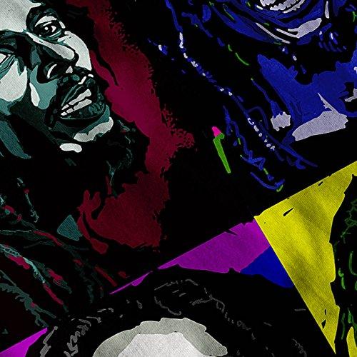 Bob Marley Sänger Berühmt Star Damen Schwarz S-2XL Muskelshirt | Wellcoda Marine