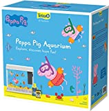 Tetra Peppa Pig Aquarium, Glass Fish Tank with Lid and Feeding Hatch, 18 Litre