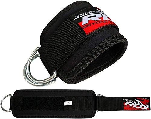 RDX Tobillo Doble D Ring Correa Multi Gym Cable Muslo