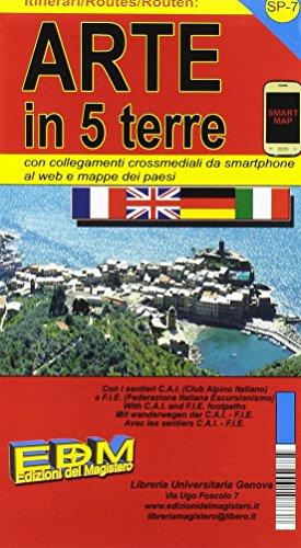 SP-7 carte 5 Terre. Carte dei sentieri di Liguria