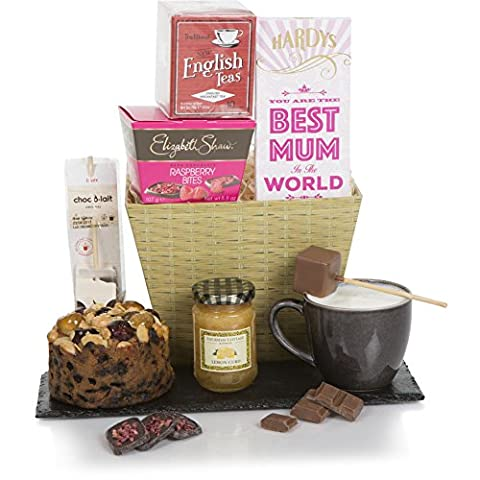 Tea & Treats For Mum Hamper - Gorgeous Hamper Gift - Perfect For Birthday, A Thank You Or Get Well