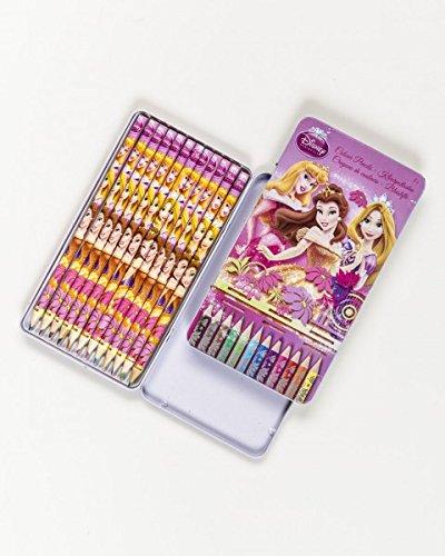 Disney Princess / Prinzessinnen Buntstifte, 12-teilig, Metallbox