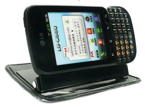 Emartbuy ® In Car Dashboard Halterung Stand (Vertikal Und Horizontal) Für Lg C660 Optimus Pro + Screen Protector (Screen Pro Protector Optimus Lg)