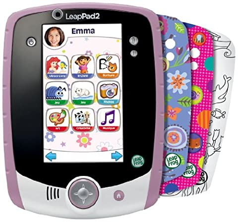 Leapfrog - 81408 - Jeu Educatif Electronique - Tablette Tactile Leappad 2+ Personnalisable - Rose