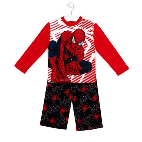 The Amazing Spider-Man 2 - Rise of Electro Pyjama für Kinder----Kostümpyjama - Größe 4 ()