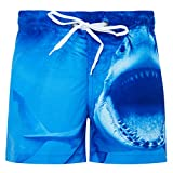 Fanient Baby Jungens' 3D Graphic Badehosen Kids Quick Dry Beach Board Kurze Hosen Swimsuit for Jungens
