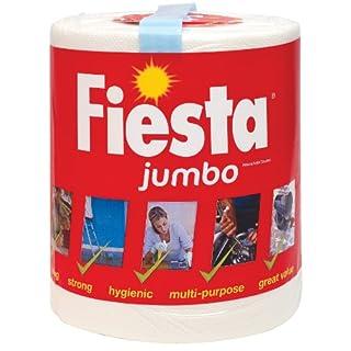 Fiesta CPD01621 Jumbo Fiesta Kitchen Roll,White