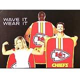Kansas City Chiefs Fan Body Flag - Wear It or Wave It