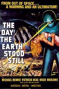 1art1 49736 Le Jour Où la Terre s'arrêta Poster Michael Rennie by Robert Wise 91 x 61 cm