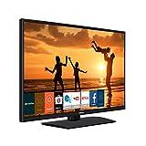 """Hitachi 39HB4T62 39"""" Full HD Smart TV Wi-Fi Black LED TV - LED TVs (99.1 cm (39""""), 1920 x 1080 pixels, LED, Smart TV, Wi-Fi, Black)"""