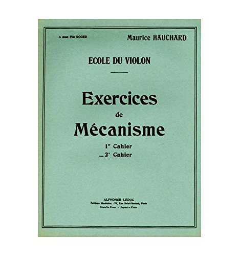 EXERCICES DE MECANISME VOLUME 2 VIOLON