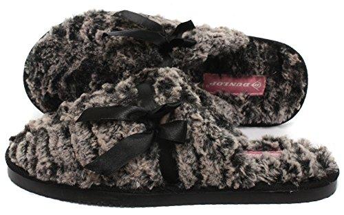 Dunlop Henrietta Donna Pantofole Mink