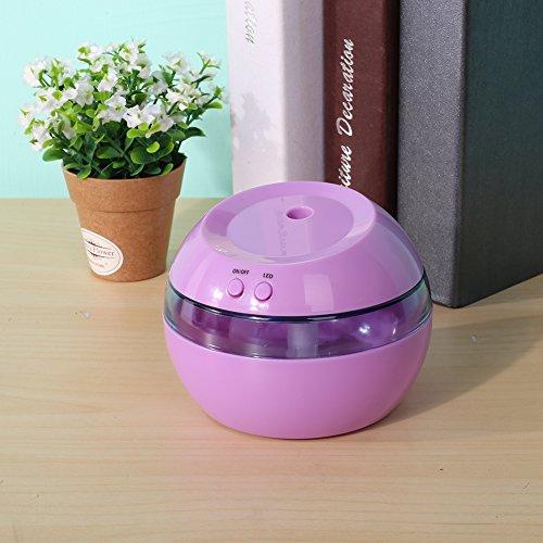Preisvergleich Produktbild Haihuic Mini Aroma ätherische Öllampe Aromatherapie Elektrischer Diffusor Cool Mist Air Maker Luftbefeuchter mit LED-Licht