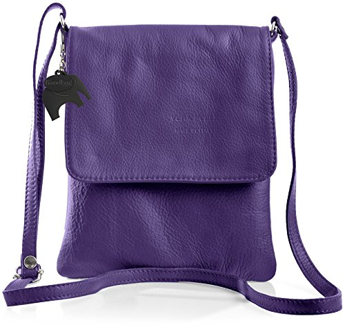Big Handbag Shop - Borsa a tracolla donna Viola (Viola)
