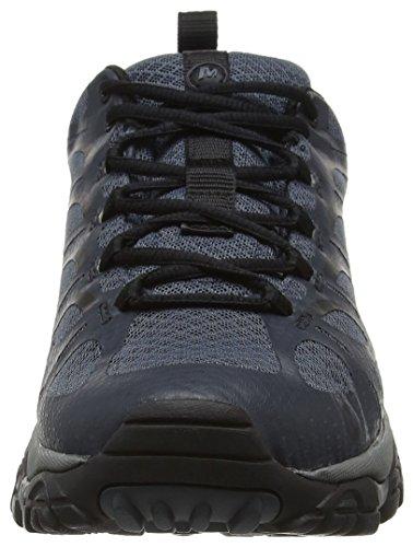 Merrell Moab Edge Waterproof, Chaussures de Randonnée Basses Homme Gris (Dark Slate)