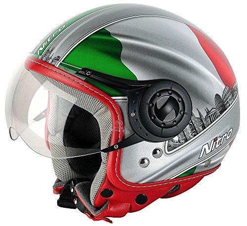 Nitro-Casco-Moto-VerdeBlancoRojo-S
