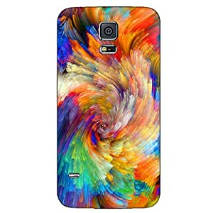 COLORFUL PAINITNG BACK COVER FOR SAMSUNG GALAXY S5