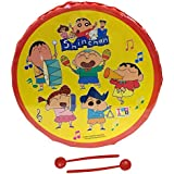 Musical Toy Marching Snare Drum Set For Kids Musical Instrument For Boys & Girls - 10 Inches Diameter Shin Chan Theme