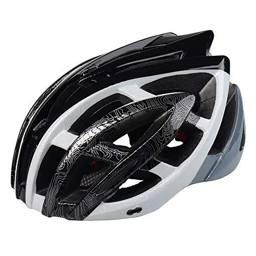 Fahrrad-Mountainbike-Helm (57-61 cm), Outdoor-Sicherheitsausrüstung, mit Insektennetz, geeignet für Erwachsene Männer und Frauen-A