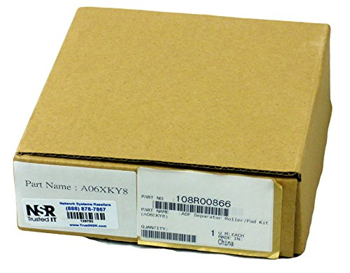 Xerox ADF Roller Kit - Printer ADF maintenance kit - 100000 pages - for WorkCentre 6400S, 6400X, 6400XF, 6400XM by XEROX (Adf Roller Maintenance Kit)