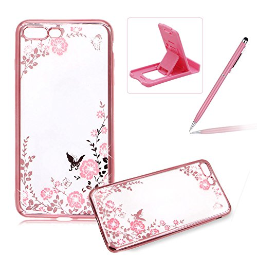 custodia-bumper-per-iphone-7-plus-55-case-coverherzzer-mode-trasparente-oro-rosa-frame-design-rosa-f
