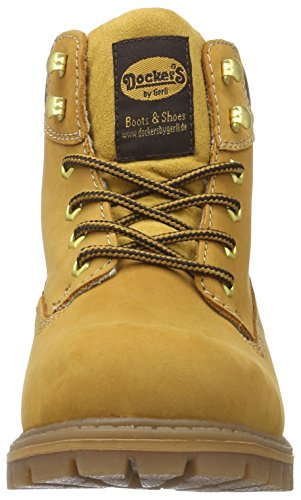 Dockers by Gerli Herren 35ca101-300 Combat Boots Gelb (GOLDEN Tan 910)