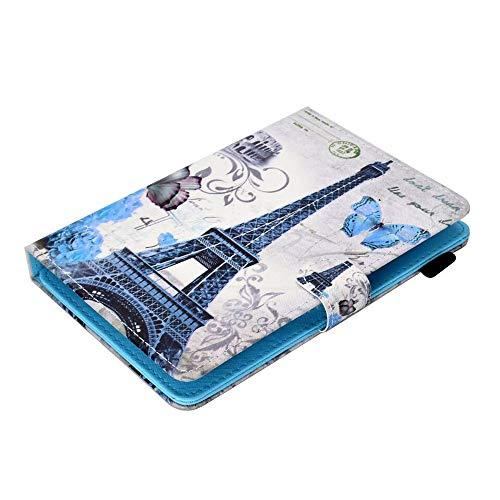 Schutzhülle kompatibel für 9,7 Zoll / 10,1 Zoll / 10 Zoll / 7 Zoll / 8 Zoll Android-Tablet, Universal Verstellbarer PU + Lederständer Case Cover (Android 7inch Cover Tablet)