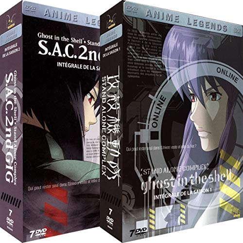 Ghost in the Shell [Stand Alone Complex] - Intégrale - 2 Coffrets (14 DVD)