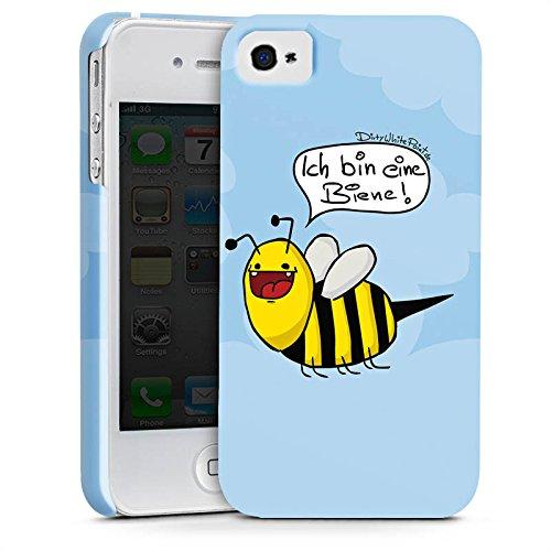 Apple iPhone 5 Silikon Hülle Case Schutzhülle DirtyWhitePaint Fanartikel Merchandise Ich bin eine Biene! Premium Case glänzend