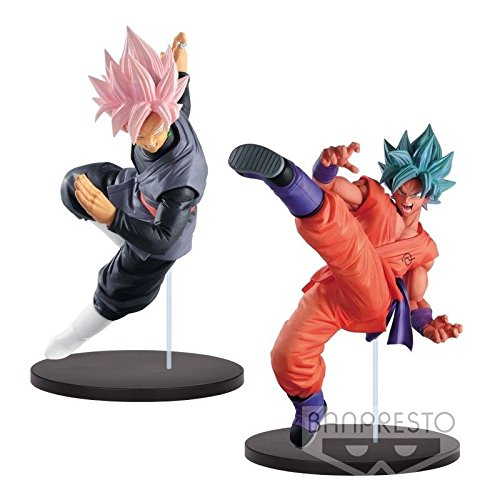 Banpresto DRAGON BALL SUPER FES!! VOL.8 SON GOKU SUPER SAIYAN BLUE & BLACK GOKU SUPER SAIYAN ROSE