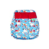 TotsBots PeeNut Pippin Reusable Washable Waterproof Wrap Size 2, 9 to 35lbs, for use with Bamboozle Nappies