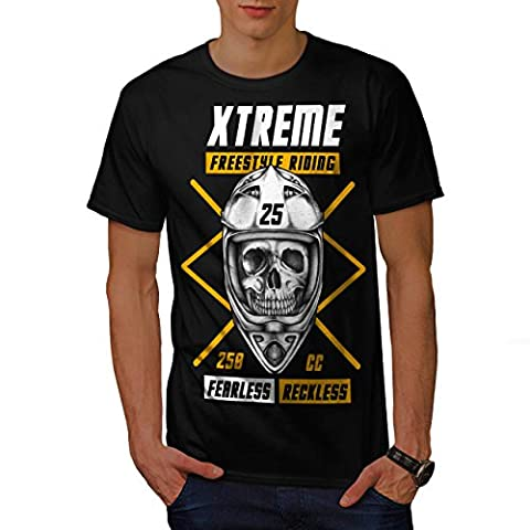 Freestyle motocross sport Homme M T-shirt | Wellcoda