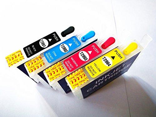 Cartucho de tinta vacío recargable 29XL para XP-235 XP-245 XP-332 XP-335 XP-432 XP-435 XP-247 XP-442 XP-342 XP-345 XP-445 Impresora 4 piezas 29 Tinta