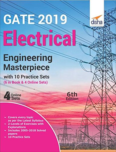 GATE 2019 Electrical Engineering Masterpiece with 10 Practice Sets (6 in Book + 4 Online)