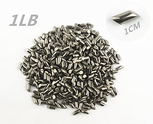 Stainless Steel Tumbling Media Shot Jewelers Crude cylinder Tumbler Finishing 1Lb TO148 by Magic show (Finishing Media)