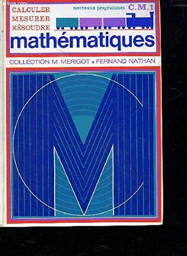 Merigot math CM1