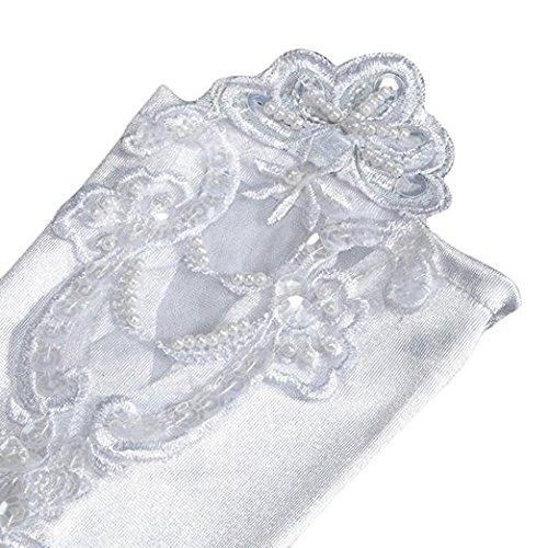 OKDRESS - Gant - Femme Blanc