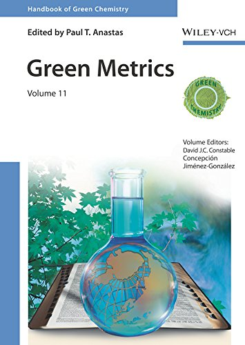 Green Metrics (Handbook of Green Chemistry) (English Edition)