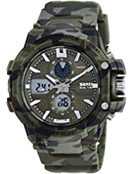 Upto 85% Off On Skmei Chronograph Analogue Digital Sport Men's Watches low price image 10